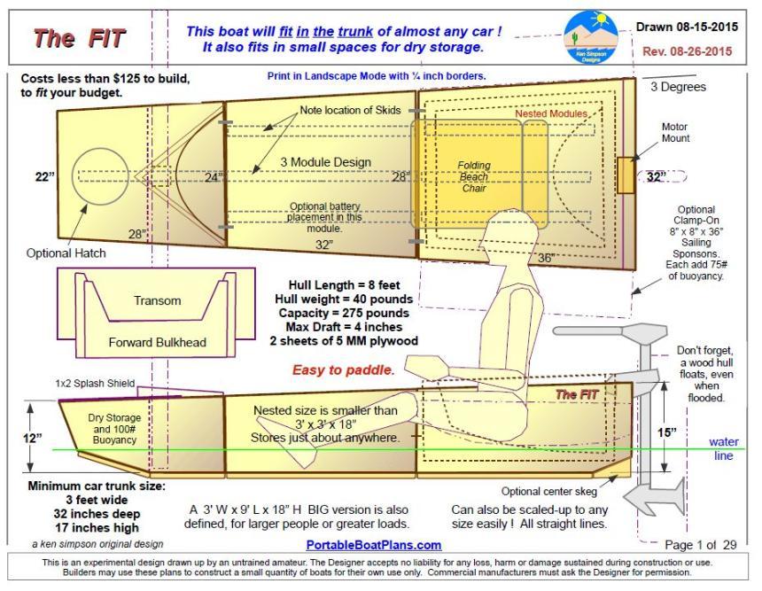 Boat Plans: Boat Plans Jim Michalak