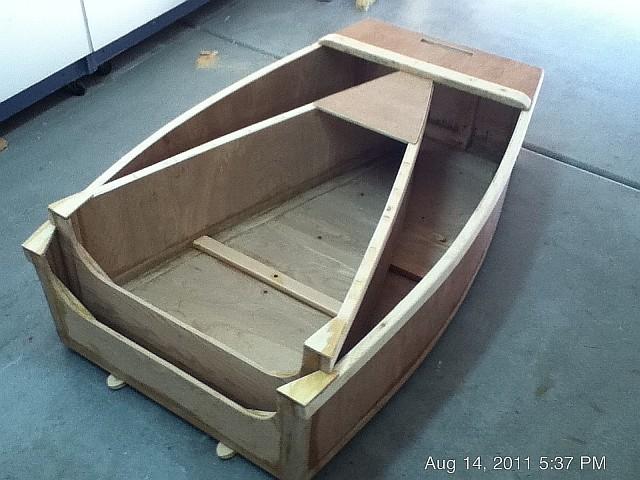 Caulking wooden boat decks, nesting dinghy plans