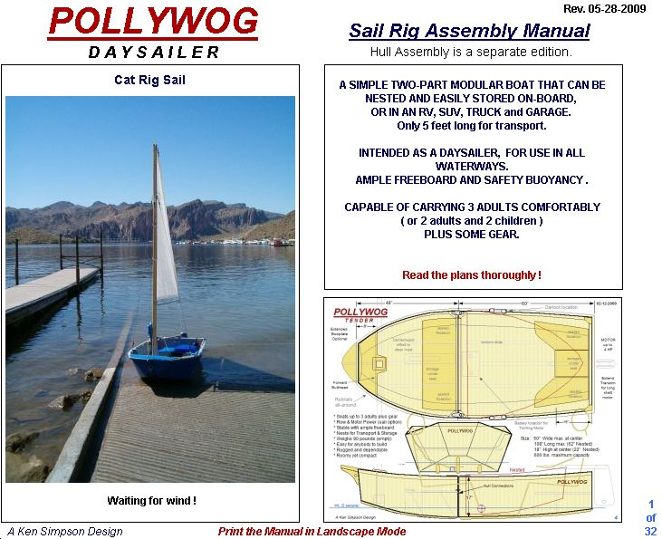 Duck boat and other plan: Folding boat plans pdf
